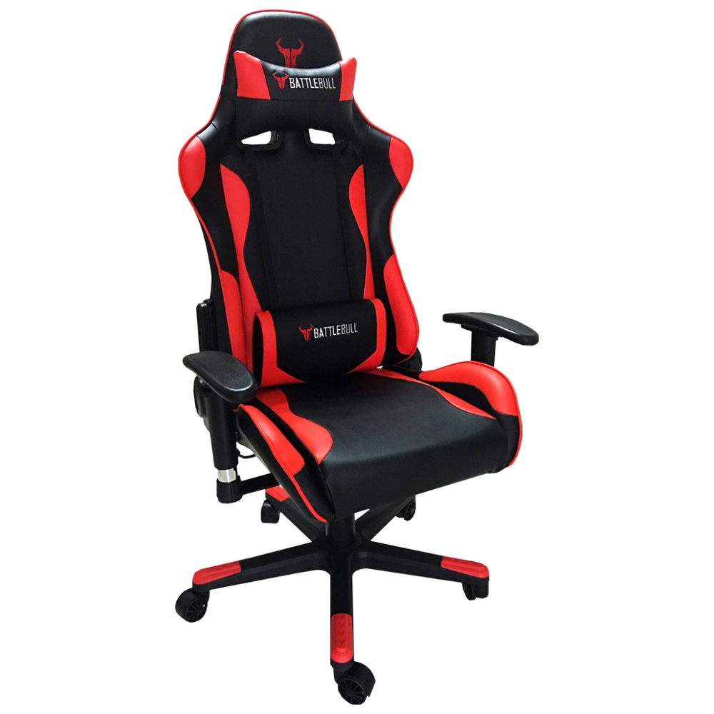 A large main feature product image of BattleBull Combat Gaming Chair Black/Red