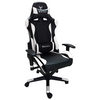 A product image of BattleBull Combat Gaming Chair Black/White
