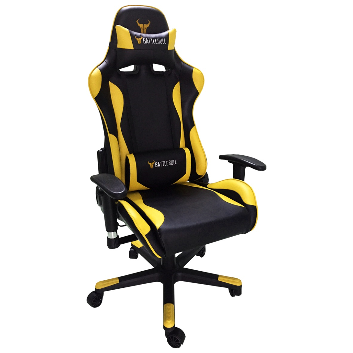 Battlebull Combat Gaming Chair Black Yellow Bb 620961