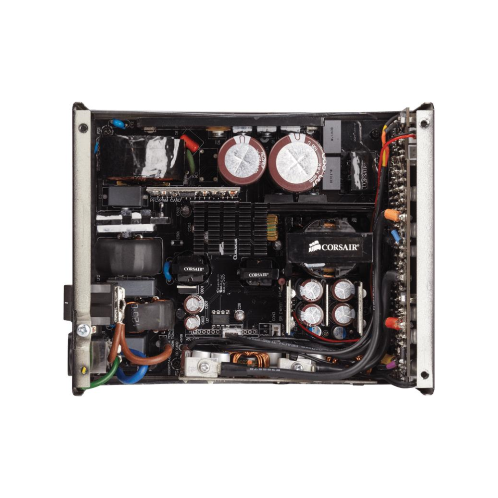 A large main feature product image of Corsair RM1000x 1000W 80PLUS Gold Modular Power Supply