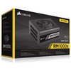 A product image of Corsair RM1000x 1000W 80PLUS Gold Modular Power Supply