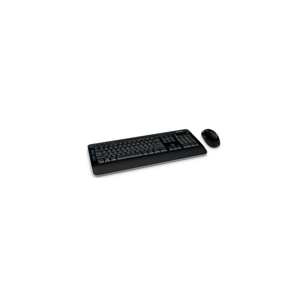 A large main feature product image of Microsoft Wireless BlueTrack Desktop 3050
