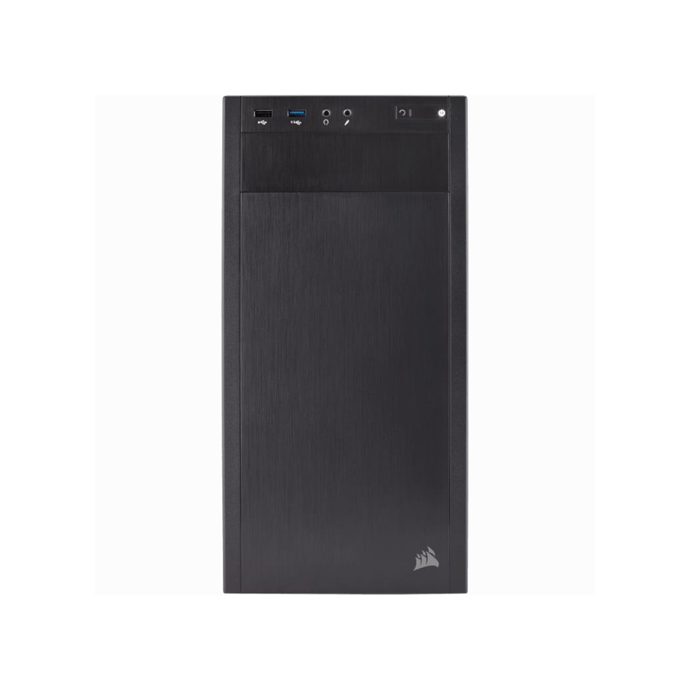 A large main feature product image of Corsair Carbide 88R Mid Tower Case w/Side Panel Window