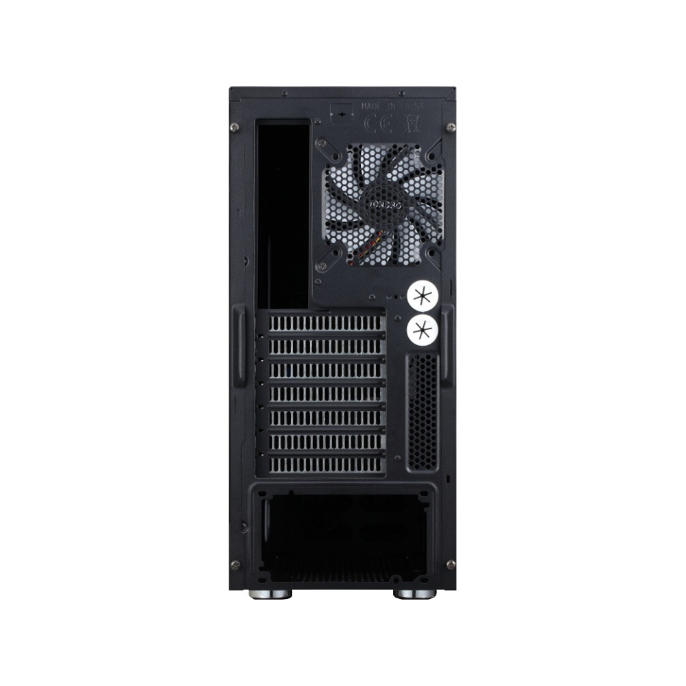 A large main feature product image of Jonsbo Quiet Angel QT01 Black ATX Case