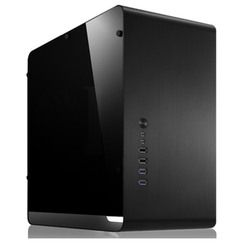 Product image of Jonsbo UMX3 Black mATX Case w/Side Panel Window - Click for product page of Jonsbo UMX3 Black mATX Case w/Side Panel Window