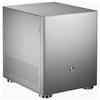A product image of Jonsbo V4 Silver mATX Case
