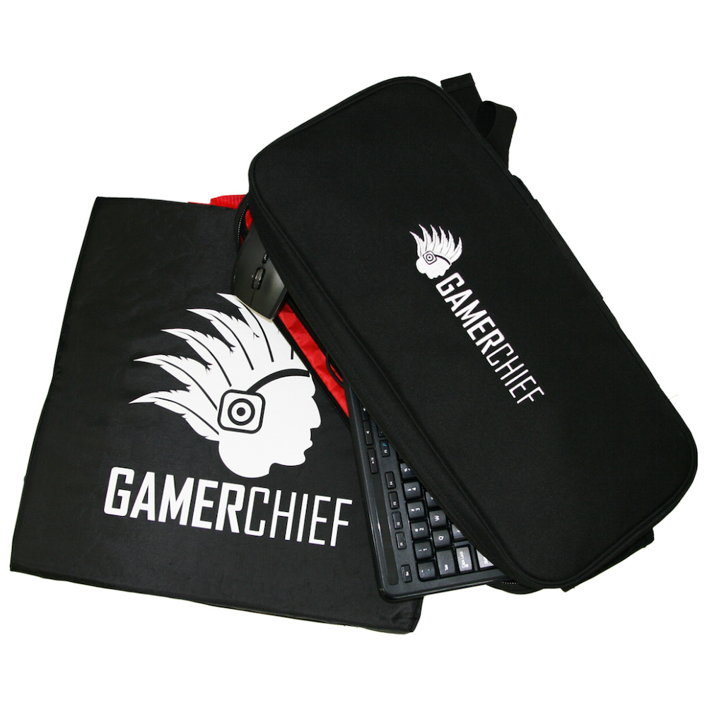 A large main feature product image of GamerChief LAN Keyboard Mouse Bag Standard