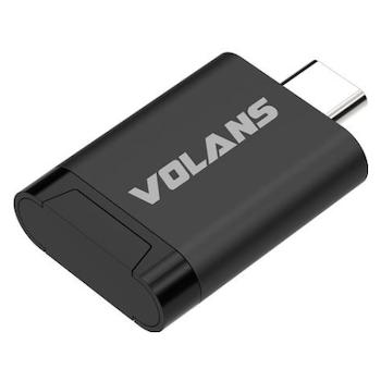 Product image of Volans Aluminium USB3.1 Type-C Card Reader - Click for product page of Volans Aluminium USB3.1 Type-C Card Reader