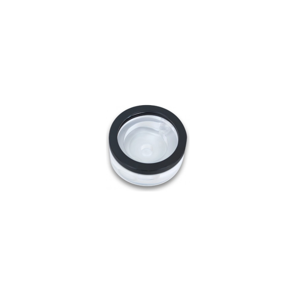 A large main feature product image of EK XTOP Revo D5 Plexi Pump Top