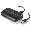 A product image of ALOGIC USB 3.0 to HDMI and DVI/VGA Dual Output External Multi Display Adapter