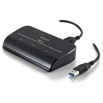 Product image of ALOGIC USB 3.0 to HDMI and DVI/VGA Dual Output External Multi Display Adapter - Click for product page of ALOGIC USB 3.0 to HDMI and DVI/VGA Dual Output External Multi Display Adapter