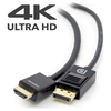 A product image of ALOGIC SmartConnect DisplayPort to HDMI 2m Cable with 4K Support