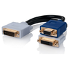 A product image of ALOGIC DVI-I to DVI-D and VGA Video Splitter Cable