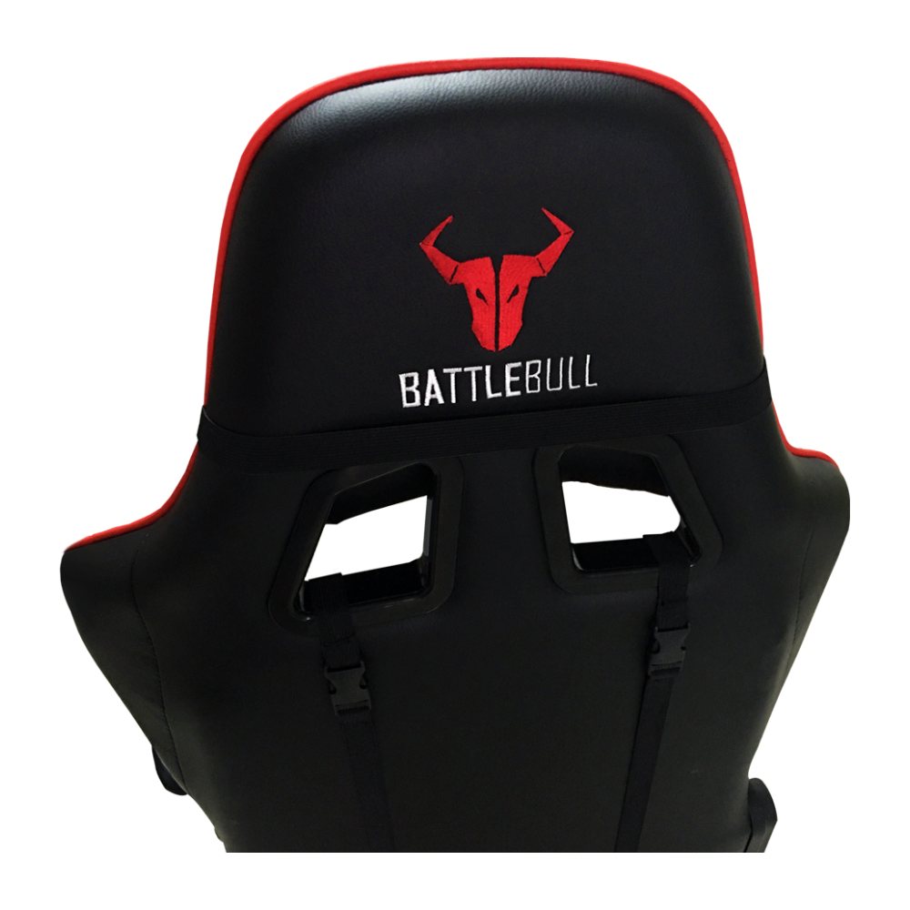A large main feature product image of BattleBull Combat Gaming Chair Black/Orange