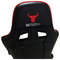 A small tile product image of BattleBull Combat Gaming Chair Black/Red