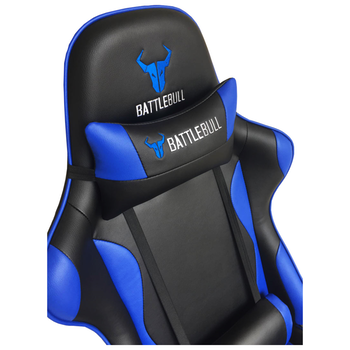Product image of BattleBull Combat Gaming Chair Black/White - Click for product page of BattleBull Combat Gaming Chair Black/White