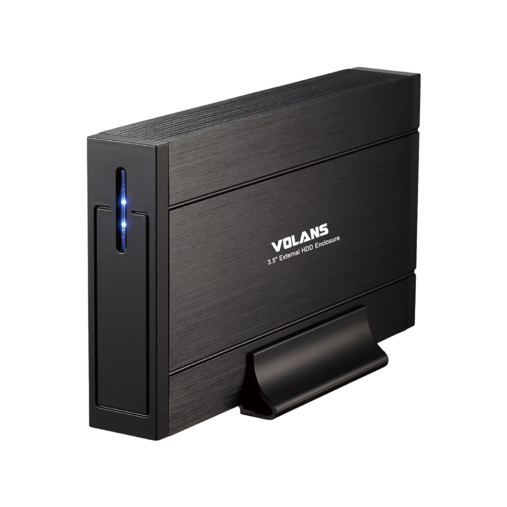 """A large main feature product image of Volans Aluminium 3.5"""" USB3.0 HDD Enclosure"""