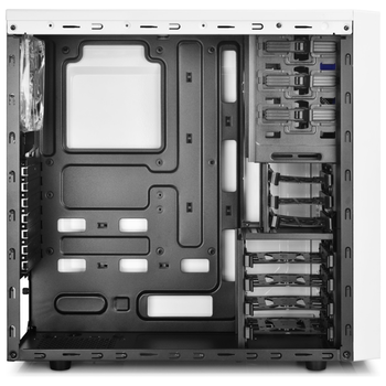 Product image of Deepcool Tesseract White Tower w/Side Window  - Click for product page of Deepcool Tesseract White Tower w/Side Window