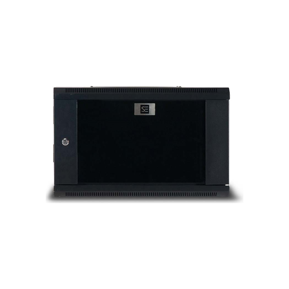 A large main feature product image of Serveredge 6RU Fully Assembled Hinged Wall Mounted Cabinet (600W x 450D x 360H)