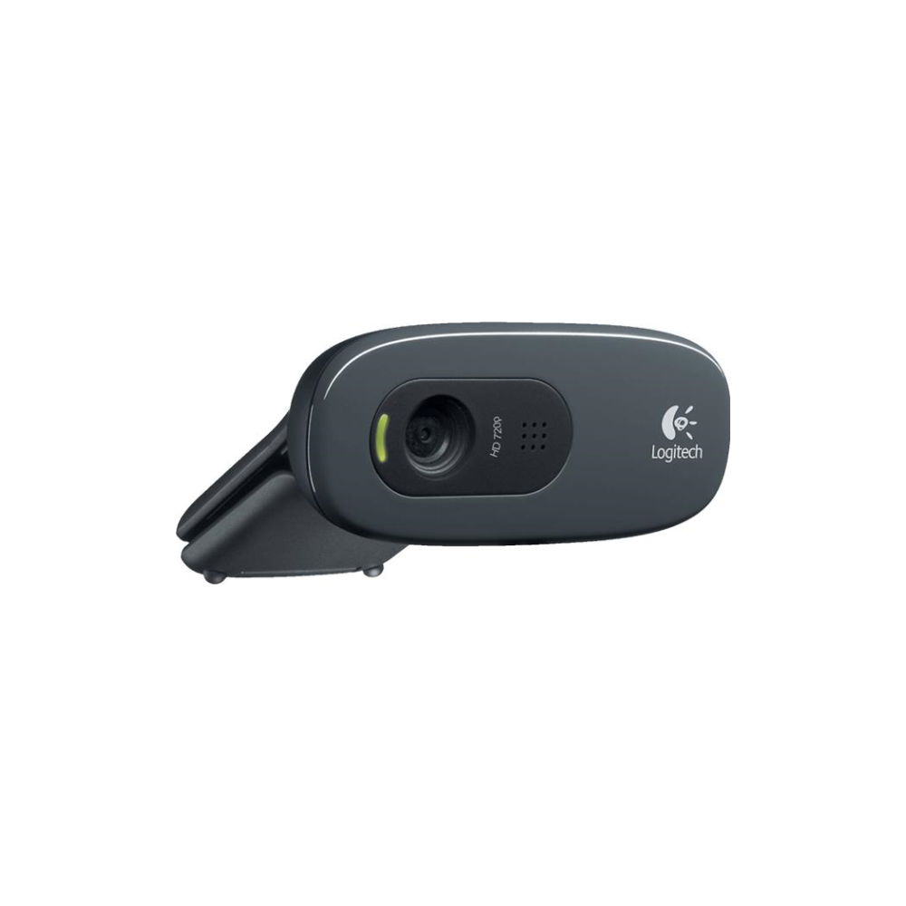 A large main feature product image of Logitech C270 720p Webcam