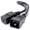 A small tile product image of ALOGIC 1m IEC C19 to IEC C20 Power Extension Male to Female Cable