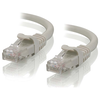 A product image of ALOGIC CAT6 0.3m Network Cable Grey