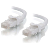 A product image of ALOGIC CAT6 0.3m Network Cable White