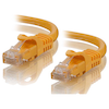 A product image of ALOGIC CAT6 0.3m Network Cable Yellow