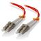A small tile product image of ALOGIC 1m LCLC Multi Mode Duplex LSZH Fibre Cable 62.5/125 OM1