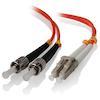 A product image of ALOGIC 2m LCST Multi Mode Duplex LSZH Fibre Cable 62.5/125 OM1