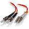 A small tile product image of ALOGIC 10m LCST Multi Mode Duplex LSZH Fibre Cable 62.5/125 OM1