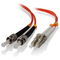A small tile product image of ALOGIC 15m LCST Multi Mode Duplex LSZH Fibre Cable 62.5/125 OM1