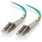 A small tile product image of ALOGIC 50m LCLC 10G Multi Mode Duplex LSZH Fibre Cable 50/125 OM3