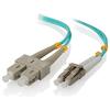 A product image of ALOGIC 1m LCSC 40G/100G Multi Mode Duplex LSZH Fibre Cable 50/125 OM4