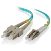 A product image of ALOGIC 20m LCSC 40G/100G Multi Mode Duplex LSZH Fibre Cable 50/125 OM4