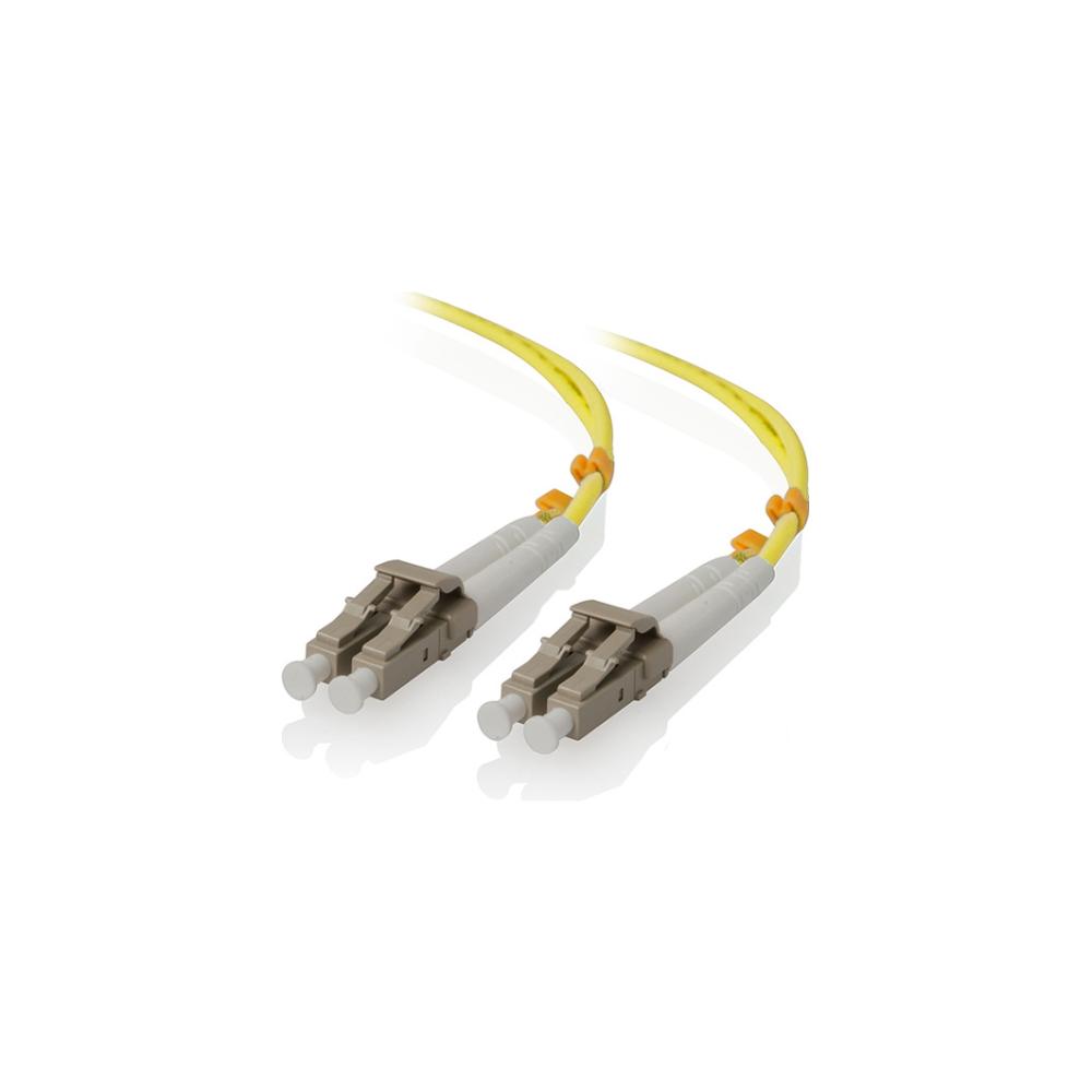 A large main feature product image of ALOGIC 3m LCLC Single Mode Duplex LSZH Fibre Cable 09/125 OS2