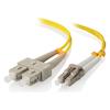 A product image of ALOGIC 1m LCSC Single Mode Duplex LSZH Fibre Cable 09/125 OS2