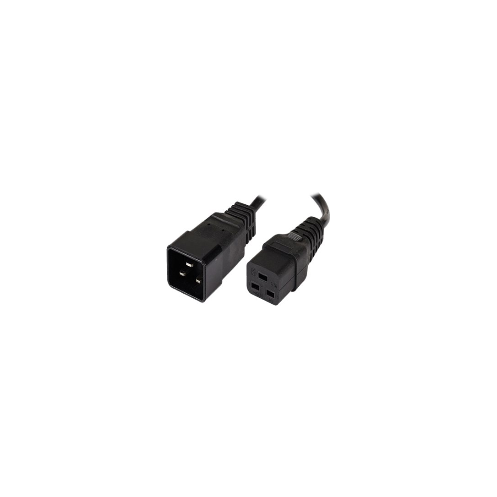A large main feature product image of ALOGIC 2m IEC C19 to IEC C20 Power Extension  Male to Female Cable