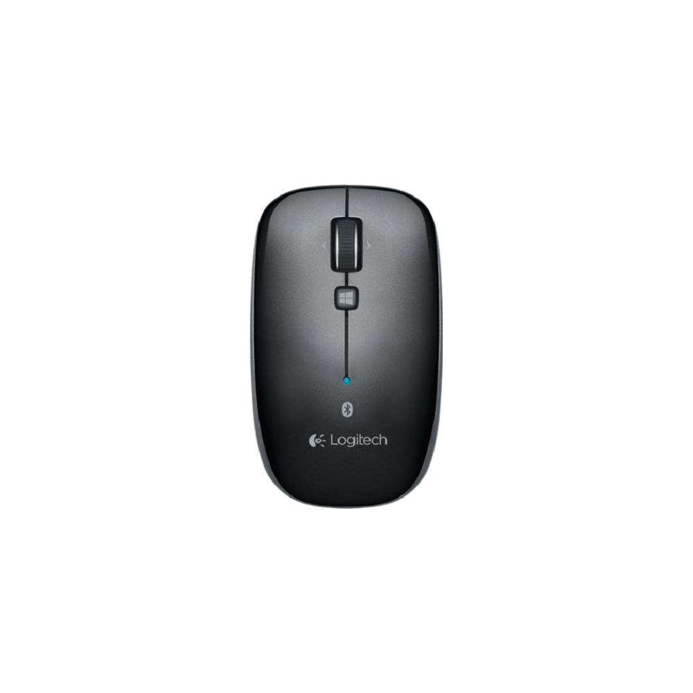 A large main feature product image of Logitech M557 Bluetooth Mouse