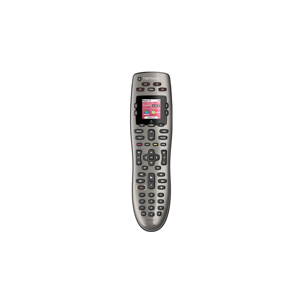 A large main feature product image of Logitech Harmony 650 Universal Remote