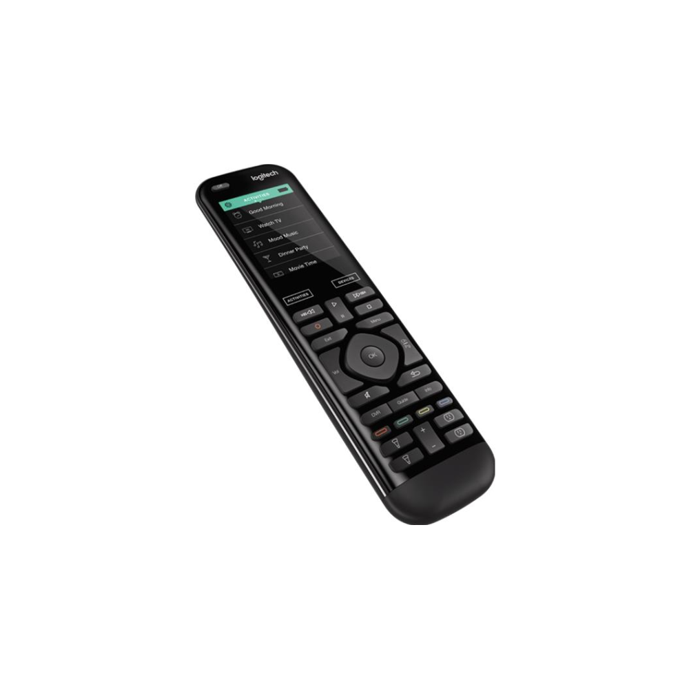 A large main feature product image of Logitech Harmony Elite Smart Home Remote