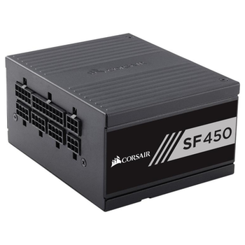 Product image of Corsair SF450 450W 80PLUS Gold Modular SFX Power Supply - Click for product page of Corsair SF450 450W 80PLUS Gold Modular SFX Power Supply