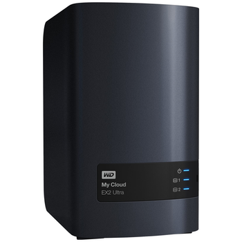 Product image of WD My Cloud EX2 Ultra 2 Bay NAS Device - Click for product page of WD My Cloud EX2 Ultra 2 Bay NAS Device