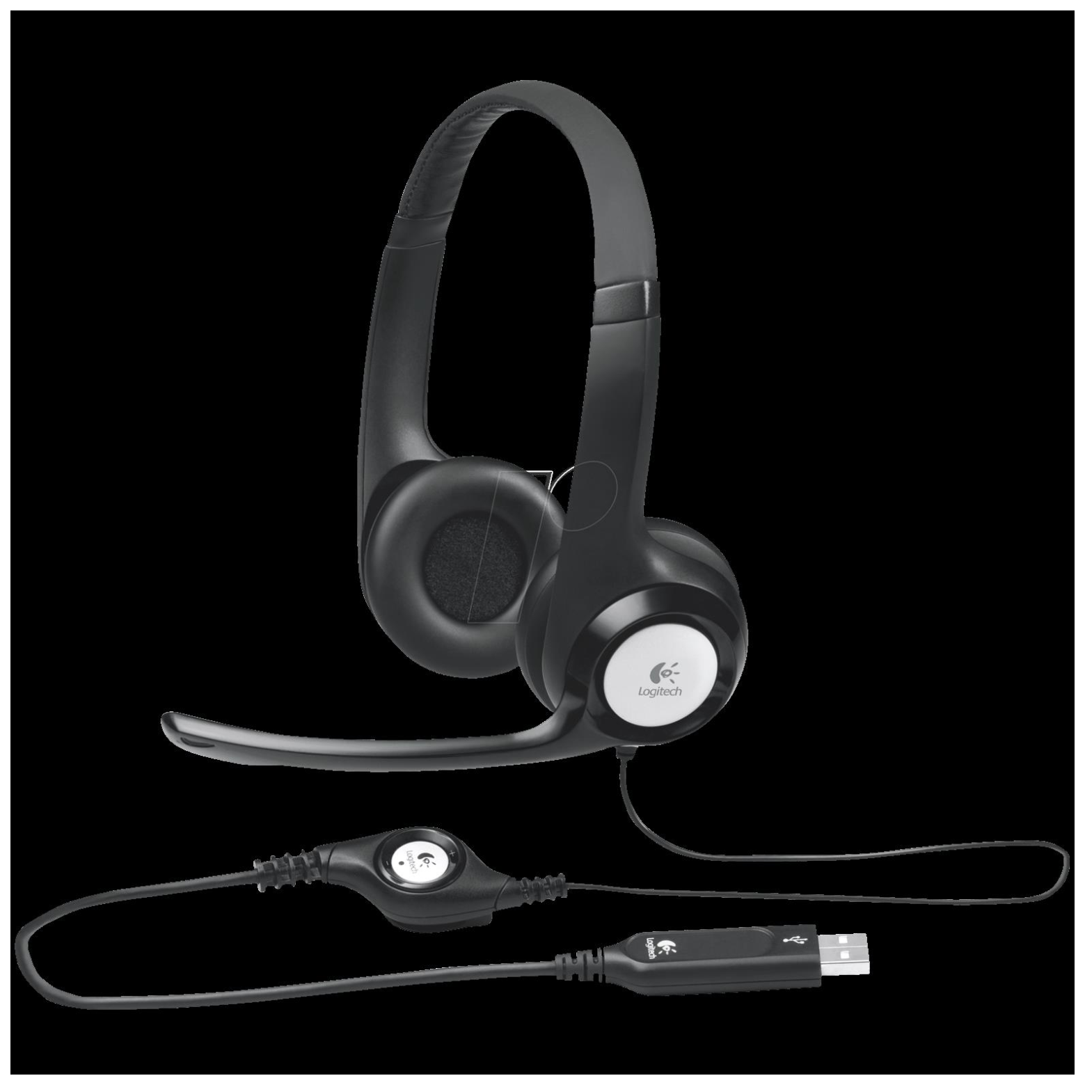 how to connect logitech headphones to computer