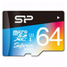 Silicon Power 64GB Superior Pro UHS-3 microSD Card (inc. SD Adapter)