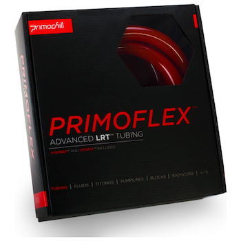 "Product image of PrimoChill PrimoFlex Advanced LRT 13mm (1/2"") ID, 19mm (3/4"") OD 10ft Pack Bloodshed Red Tubing - Click for product page of PrimoChill PrimoFlex Advanced LRT 13mm (1/2"") ID, 19mm (3/4"") OD 10ft Pack Bloodshed Red Tubing"