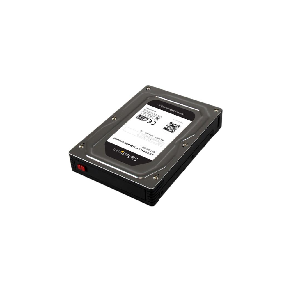 """A large main feature product image of Startech 2.5"""" to 3.5"""" SATA HDD Adapter Enclosure"""
