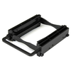 """A product image of Startech Tool-Free Dual 2.5"""" to 3.5"""" SSDs/HDDs Drive Bay"""