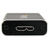 A product image of Startech mSATA Mini Drive Enclosure - USB 3.1