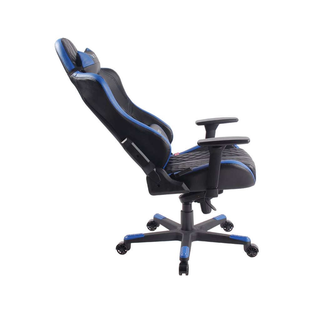 A large main feature product image of BattleBull Crosshair Gaming Chair Black/Blue